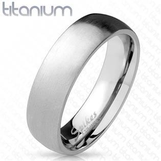 TT1039 Pánský snubní prsten titan