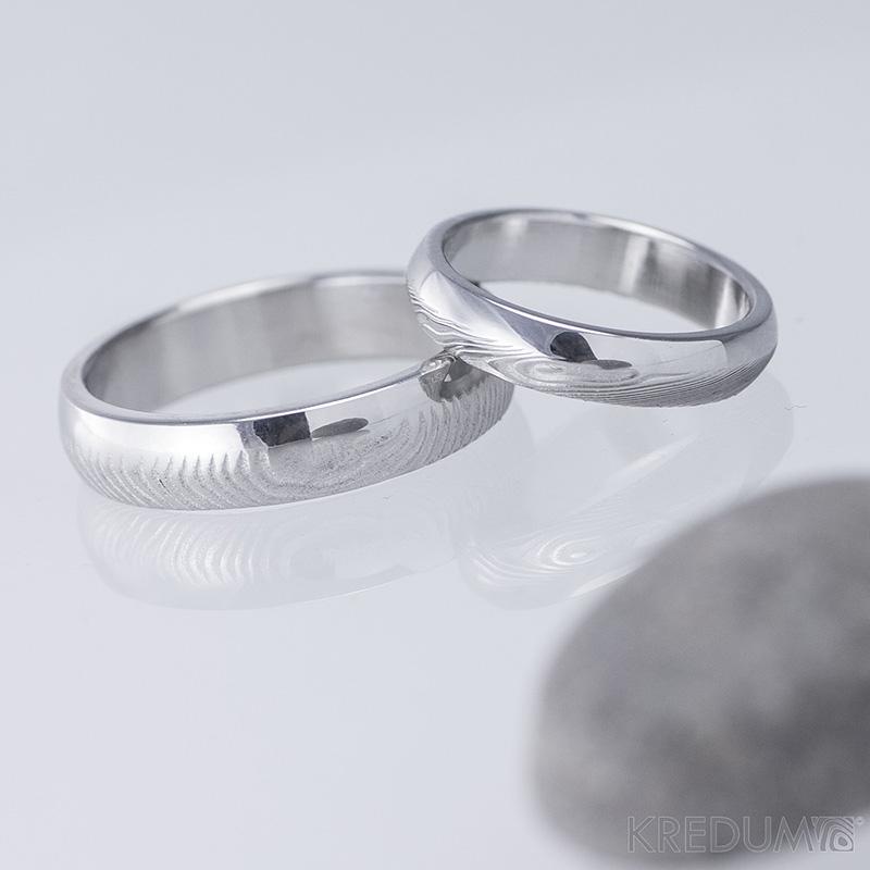 Snubni Prsteny Damasteel Prima Duo Par Snubniprsteny4u Cz