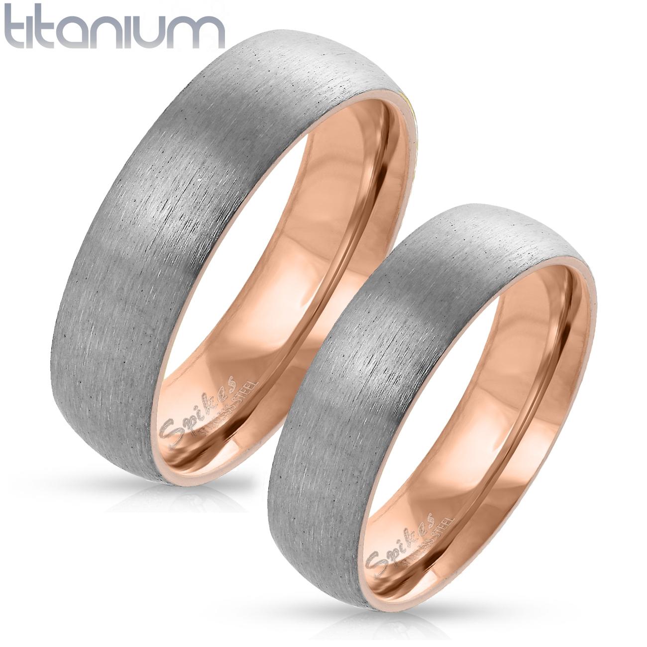 Tt1041 Snubni Prsteny Z Titanu Par Snubniprsteny4u Cz